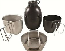 BCB CN010S CRUSADER COOKING SYSTEM SILVER 4 PIECE SET
