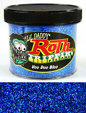Lil Daddy Roth Metal Flake Voodoo Bloo trippin 2oz jar hot rod custom prismatic
