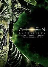 ALIEN QUADRILOGY DVD ALIEN ALIENS ALIEN 3 ALIEN RESSURECTION