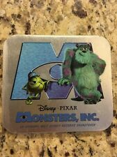 Monsters Inc Limited Edition Steel Tin Soundtrack Cd /17000 Mint Disney Store