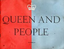 QUEEN AND PEOPLE PREPARED BY THE CENTRE OFFICE OF INFORMATION 1959 MAGAZINE