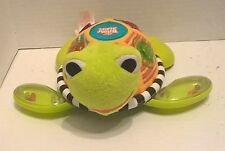 BRIGHT Starts Lights MUSIC and MELODIES Push ALONG Turtle With RATTLE Feet!