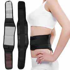 Magnetic Self-Heating Lower Back Lumbar Waist Pad Belt Support Protector WD JXX