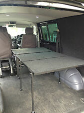 VW Transporter T5 T6 Kombi Folding Bed System - Rock & Roll - 3/4 Width - Camper