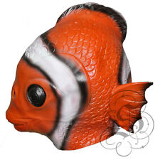 Latex Animal Aquatic Clown Fish High Quality Fancy Dress Up Party Carnival Masks