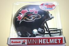 Vintage Riddell Mini Football Helmet OTTAWA RENEGADES NEW in Factory Box