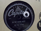 The Pied Pipers with Paul Weston - Madame Butterball / In The Moon Mist 78 recor