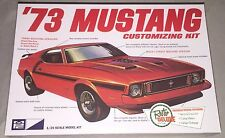MPC '73 Ford Mustang 1/25 plastic model car kit new 846 *