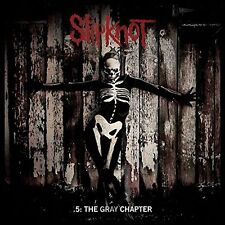 SLIPKNOT  .5 : The Gray Chapter  2LP clear green vinyl - Gatefold New Sealed