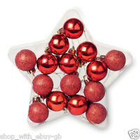 15pcs Christmas Tree Decor Ball Bauble Hanging Home Xmas Party Ornament Decor