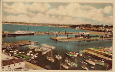 JERSEY  : St Helier's Harbour -BB