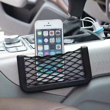 Universal Car Net Holder Phone Holder Pocket Organizer String Bag Mobile Stand