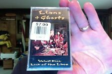 Lions & Ghosts- Velvet Kiss, Lick of the Lime- new/sealed cassette tape