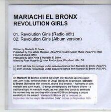 (CG496) Mariachi El Bronx, Revolution Girls - 2011 DJ CD