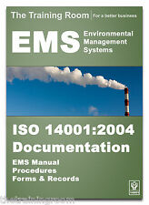 ISO 14001:2004 EMS DOCUMENTATION TOOL KIT **POLICIES**PROCEDURES**RECORDS**