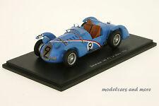 Delahaye 145 - Comotti / Divo - 24h Le Mans 1938 - 1:43 Spark 2726