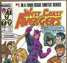 WEST COAST AVENGERS #1 with Hawkeye & Iron Man from Sept. 1984 in Fine+ con.