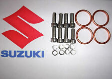EXHAUST MANIFOLD GASKET & HEADER BOLTS FOR GSX 1400 2002 to 2008 K2 TO K7