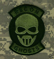 USMC FORCE RECON TALL GRASS SNIPER ODA SHOULDER VELCRO PATCH: GRAW GHOST RECON