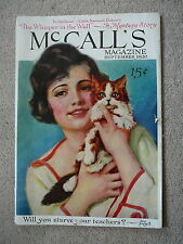 McCALL'S MAGAZINE - SEPTEMBER 1920 - SWINGING HAMMOCK PAPER DOLL by BARBARA HALE