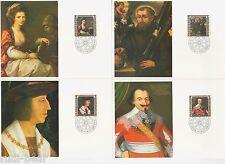 Liechtenstein Nr.   809-12  MK  Gemälde Persönlichkeiten