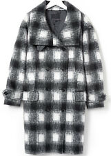 NWT  WOMEN'S BANANA REPUBLIC  COCOON WOOL BLEND DOUBLE BREASTED COAT SMALL  $348