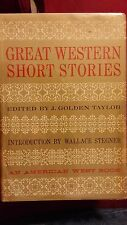 Great Western Short Stories edited by J. Golden Taylor 1967 HCDJ First Edition