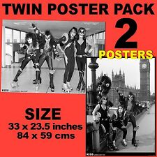 NEW Kiss in London - Set of 2 Posters Size 84.1cm x 59.4cm