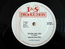 "Trevor Walters Stuck On You / Penny Lover ♫LISTEN♫ UK 12"" I & S IST 002 1983 VG"
