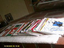 NEW Lot of 50 Christmas New Years Cards with Envelopes Assorted Designs 3(*)