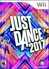 JUST DANCE 2017  (Wii, 2016) (3034)  SHIPS NEXT BUSINESS DAY   FREE SHIPPING USA