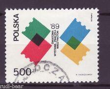 Polen Nr. 3229  gest.  Briefmarkenausstellung    -1-