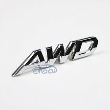 AWD Emblem Tailgate Side Sticker Badge Fit For 4x4 All Wheel Drive SUV Off Road