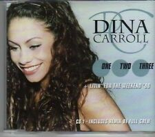 (CK836) Dina Carroll, One Two Three - 1998 CD