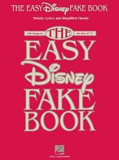 The Easy Disney Fake Book Learn to Play Beginner Starter Chords MLC Music Book