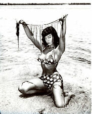 Bettie Betty Page Leggy 8x10 photo S0608