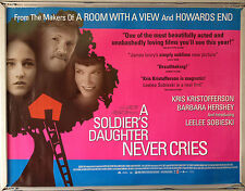 Cinema Poster: A SOLDIER'S DAUGHTER NEVER CRIES 1998 (Quad) Kris Kristofferson