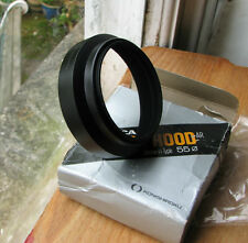 genuine Konica AR metal  55mm screw in lens hood for 50mm & 85mm