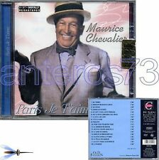 "MAURICE CHEVALIER ""PARIS JE T'AIME"" CD ITALIE"