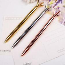 New Party Crystal Diamond Head Crystal Ball Pen Creative Pens Korea Creative Pen