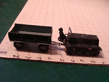Vintage CKO tin Working German Wind-Up: vehicle, connector and man, #365