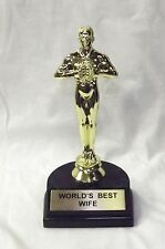 "World's Best Wife Trophy-7"" 061063"