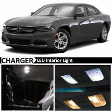 20x White Interior LED Lights Package Kit for 2006-2015 Dodge Charger + TOOL