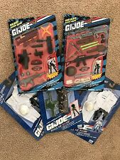GI Joe Hall of Fame lot Weapons & Gear High Caliber, Red Beret  Navy Marine 1993