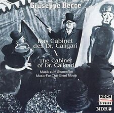 Giuseppe Becce: The Cabinet of Dr. Caligari (Music for the Silent Movie) New CD