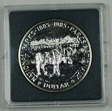 1985 Canada $1 Commemorative Proof-Like Coin Centennial of National Park No Case