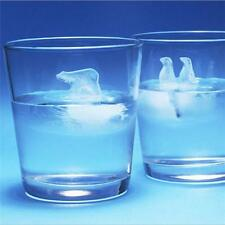 Pop Unique Polar Ice Lovely Penguin & Polar Bear Ice Cube Tray Molds Cool S
