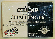 Dale Earnhardt / Jeff Gordon 'The Champ and The Challenger' 1994 42 card set
