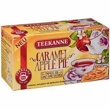 Teekanne Caramel Apple Pie Tea - 20 tea bags- Made in Germany- CALORIE FREE