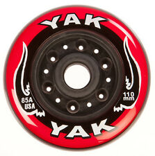 110mm x 85a YAK USA Scooter Wheel - 2 wheels with bearings